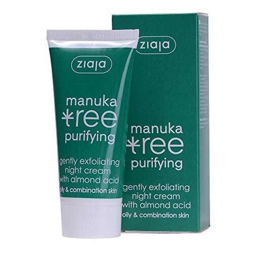 Ziaja Noční krém jemně exfoliační Manuka Tree Purifying 50 ml