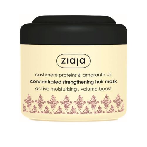 Ziaja Posilující maska Cashmere (Concentrated Strengthening Hair Mask) 200 ml