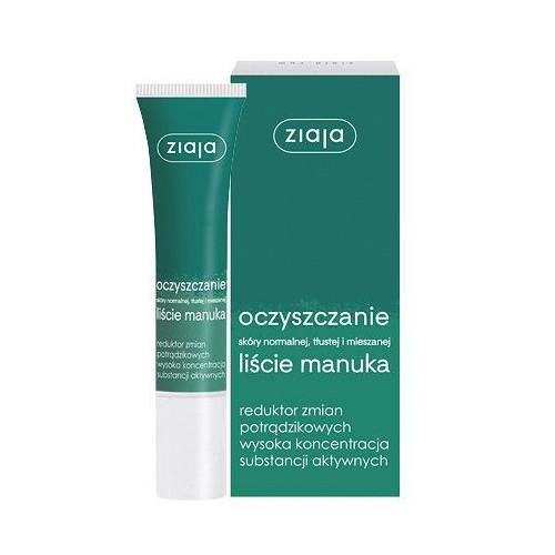 Ziaja Vyhladzujúci denný a nočný krém proti akné Manuka 15 ml