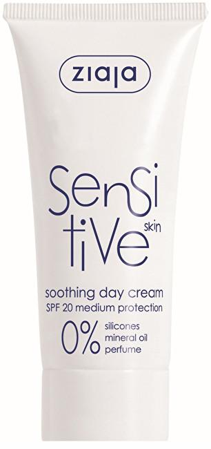 Ziaja Zklidňující denní krém SPF 20 Sensitive 50 ml