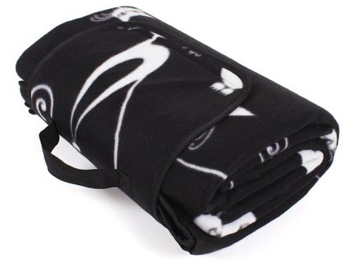Albi Designová deka na piknik s kočkami