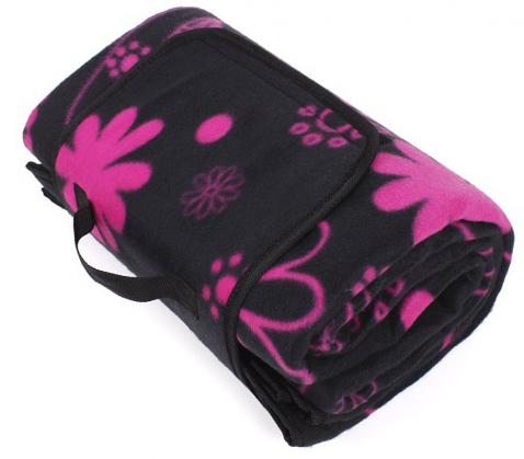 Albi Dizajnová deka na piknik s kvetmi