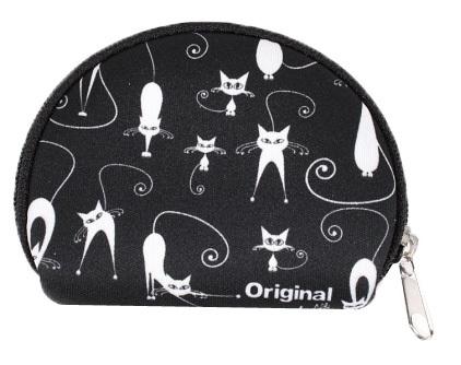 Albi Mini peněženka s kočkami