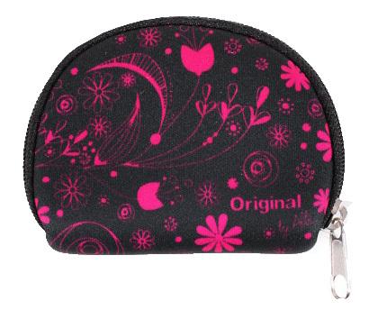 Albi Mini peněženka s růžovými květy
