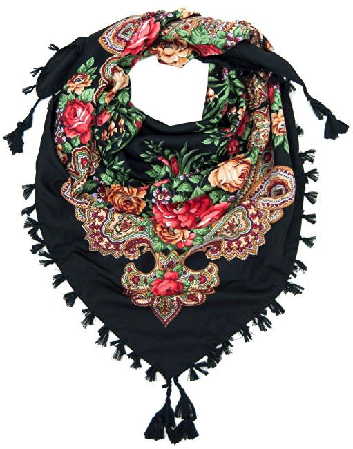 Art of Polo Eșarfă pentru femei sz14237.16 Black