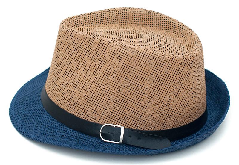 Art of Polo Letní klobouk dvoubarevný - béžovomodrý cz15160.10