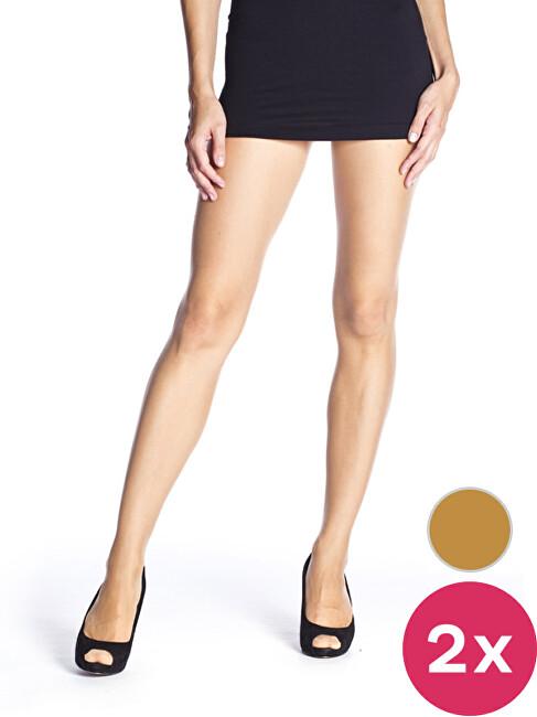 Bellinda Női harisnyanadrág szett  Amber 2 Pack Fly 15 Pantyhose BE250000-230 S