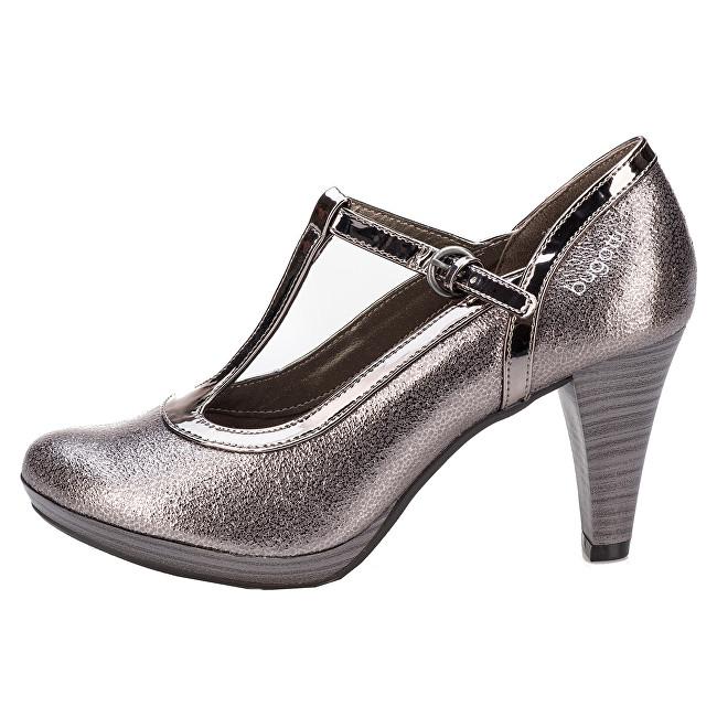 Bugatti Pantofi de damă 412281725050-1490Taupe/Metalics 38