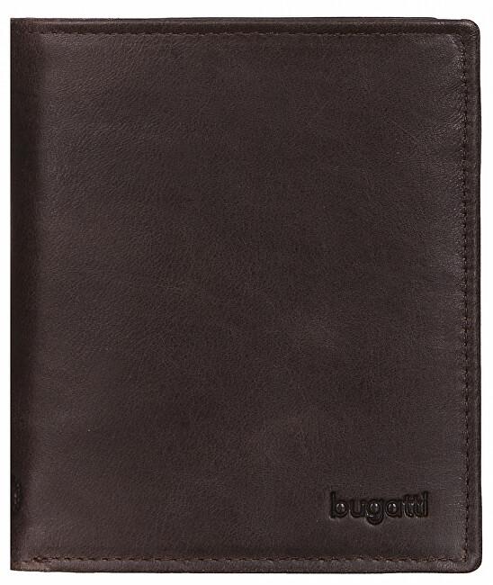 Bugatti Pánska kožená peňaženka Volo 49218302 Brown