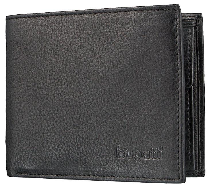 Bugatti Pánska peňaženka Sempre 49117901 Black
