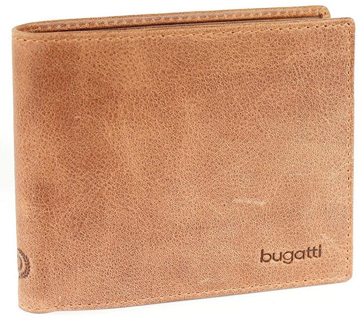 Bugatti Pánska peňaženka Volo 49218207 Cognac