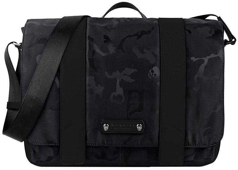 Bugatti Pánska taška na notebook Camo 49380701 Black