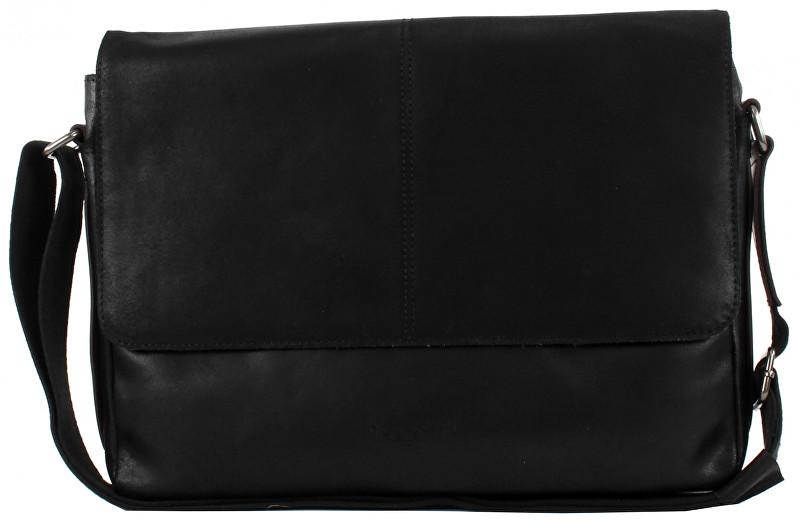 Bugatti Pánska taška na notebook Grinta 49427801 Black