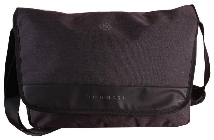 Bugatti Pánska taška na notebook Universum 49393201 Black