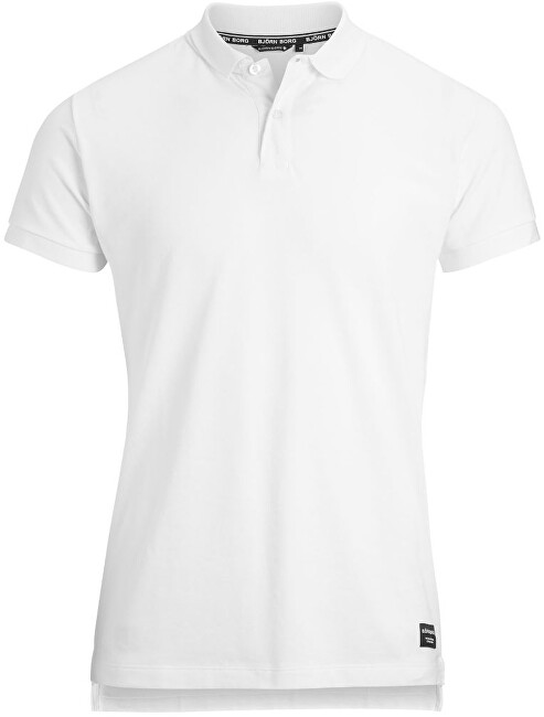 Björn Borg Pánské polo triko BBcentre 9999111700071 Brilliant White XL