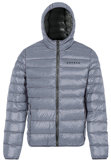Brekka Pánska zimná bunda Holiday Down Jacket Man BRFW0001-MGR M
