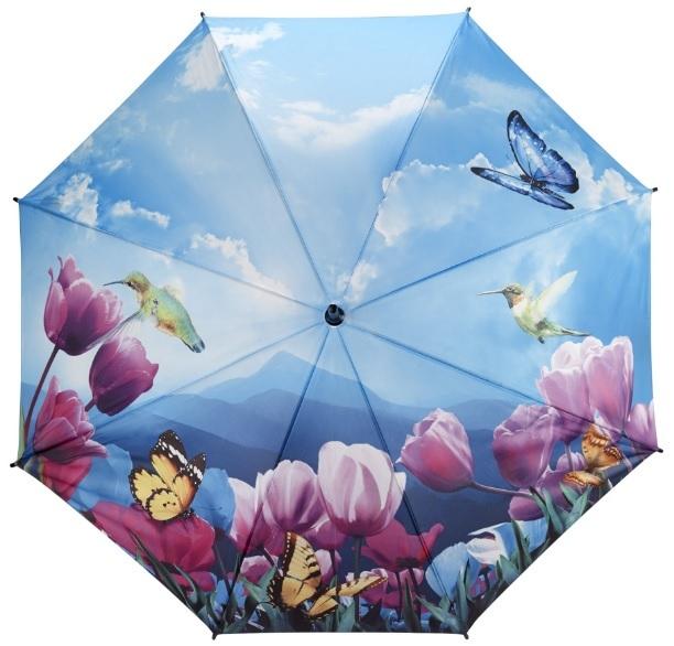 Blooming Brollies Dámsky dáždnik Tulipány sonata walking stick style