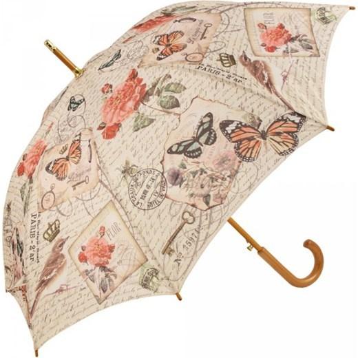 Blooming Brollies Dámský holový vystřelovací deštník Coynes Modern Vintage Butterfly COFMVBY