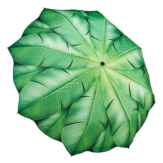 Blooming Brollies Dámský skládací plně automatický deštník Banana Leaf GFFBL