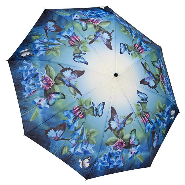 Blooming Brollies Dámský skládací plně automatický deštník Bluebells GFFBB