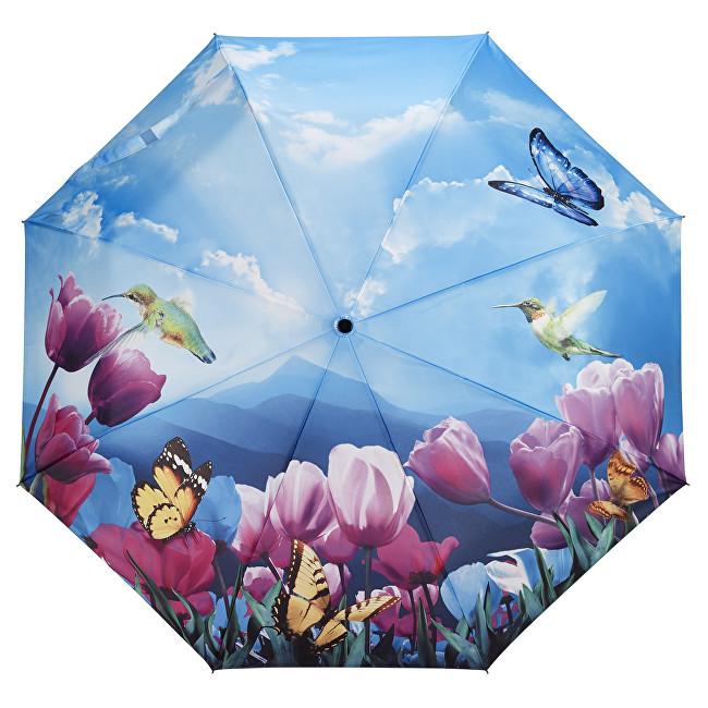 Blooming Brollies Dámský skládací plně automatický deštník Tulips Sonata GFFTS