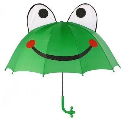 Blooming Brollies Dětský holový deštník Kidorable Frog U0100F