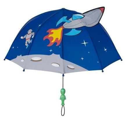 Blooming Brollies Dětský holový deštník Kidorable Space Hero U0100SP