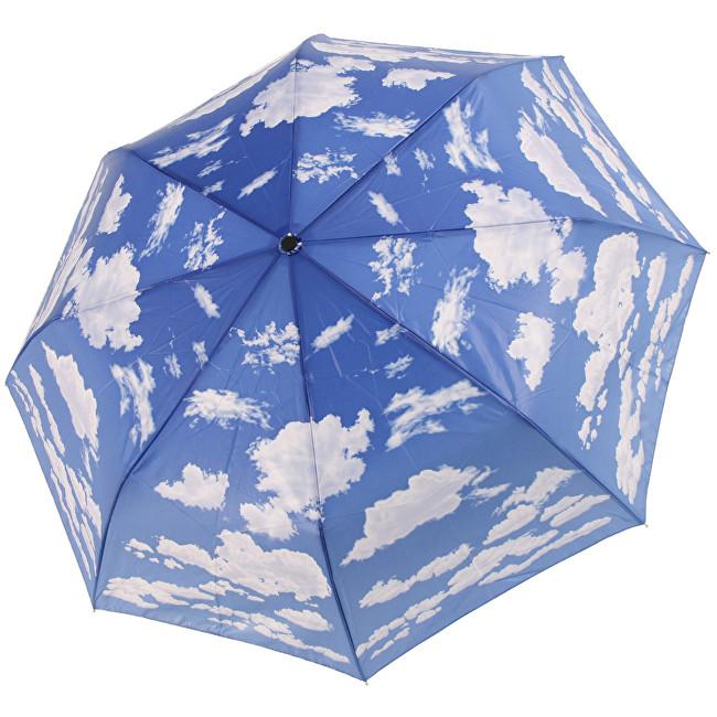 Blooming Brollies Skládací plně automatický deštník Galleria Galleria Clouds GMFCLO
