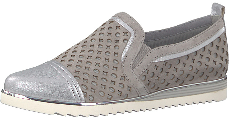 BE NATURAL by Jana Dámske Slip-on 8-8-24740-20-204 Lt. Grey 37