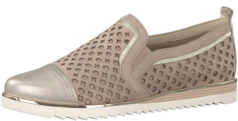 BE NATURAL by Jana Dámske Slip-on 8-8-24740-20-355 Sand 37