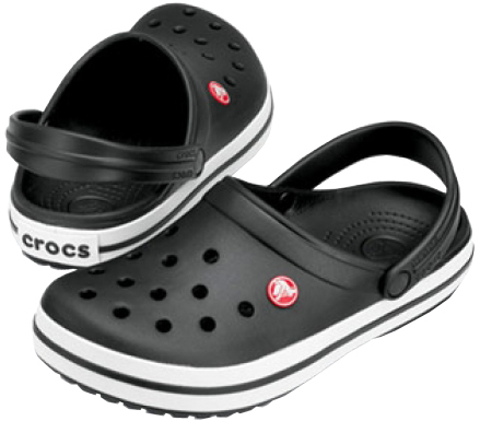 Crocs Šľapky Crocband Black 11016-001 43-44