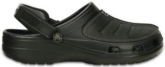 Crocs čierne šľapky Yukon mesa Clog Black / Black 203261 39-40