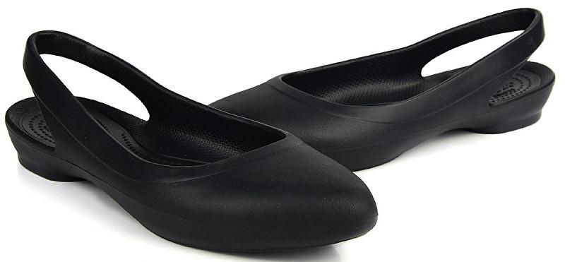 b721a913fcc Crocs Dámske baleríny Crocs Eve Slingback Black 204955-001 38-39