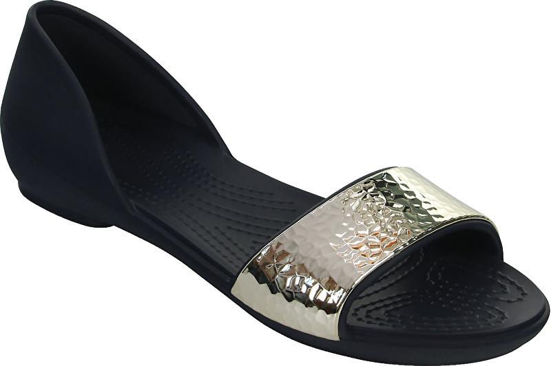 Crocs BaleriniCrocs Lina Embellished Dorsay Navy/Silver 204361-488 36-37