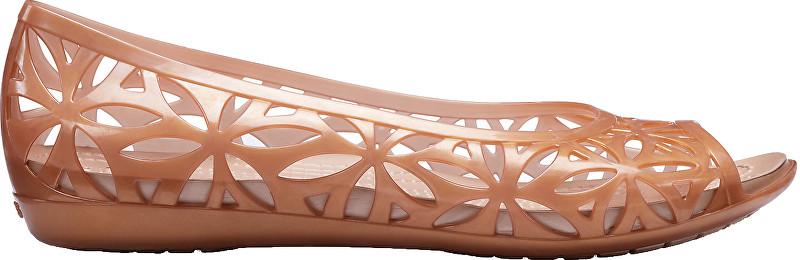 Crocs Femeile balerină Isabella Jelly II Dark Gold/Gold 204941-276 36-37