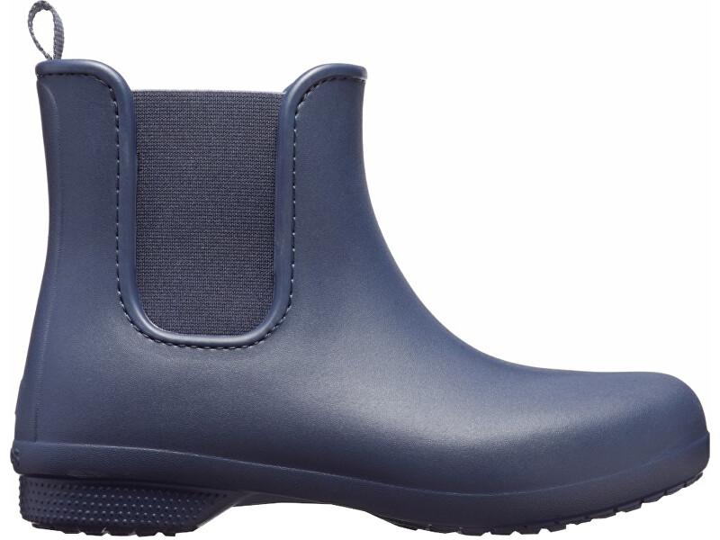 Crocs Dámske gumáky Crocs Freesail Chelsea Boot Navy / Navy 204630-463 36-37