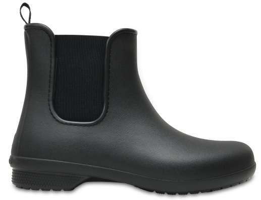 Cizme pentru Freesail Chelsea Crocs Boot W Black/Black 204630-060 36-37