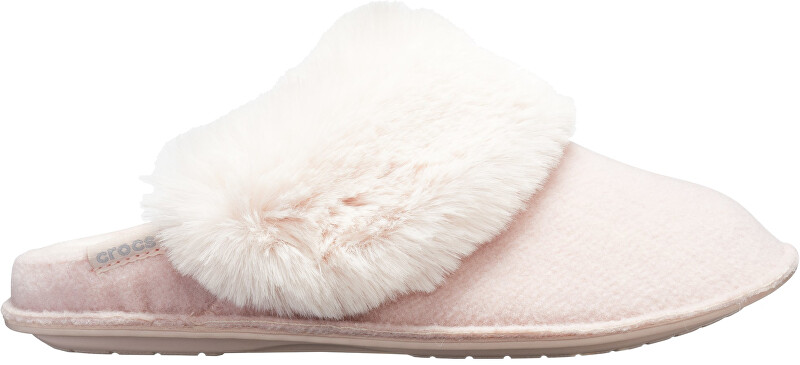 Crocs Papuci pentru femei Clasic Luxe Slipper Rose Dust 205394-60D 41-42