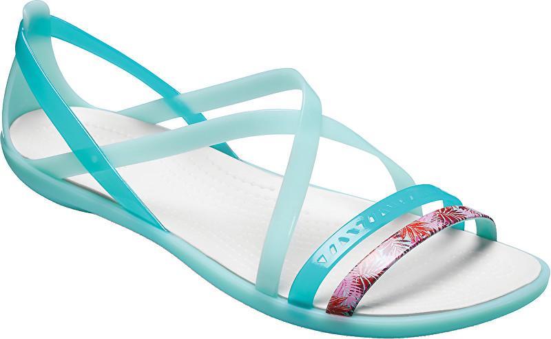 Crocs Dámské sandále Isabella Cut Grph Strappy Sndl New Mint Oyster  205150-35I 36 424c1ea063