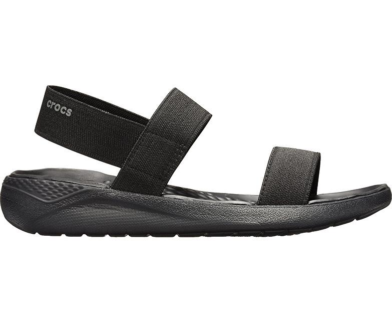 Crocs Dámske sandále LiterRide Sandal W Black/Black 205106-060 38-39