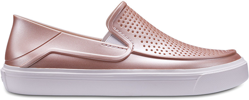 Crocs Womens Slip-on CitiLane Roka Dust Rose metalic 205154-6OD 41-42