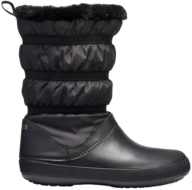 Crocs Dámske snehule Crocband Winter Boot 205314-060 41-42