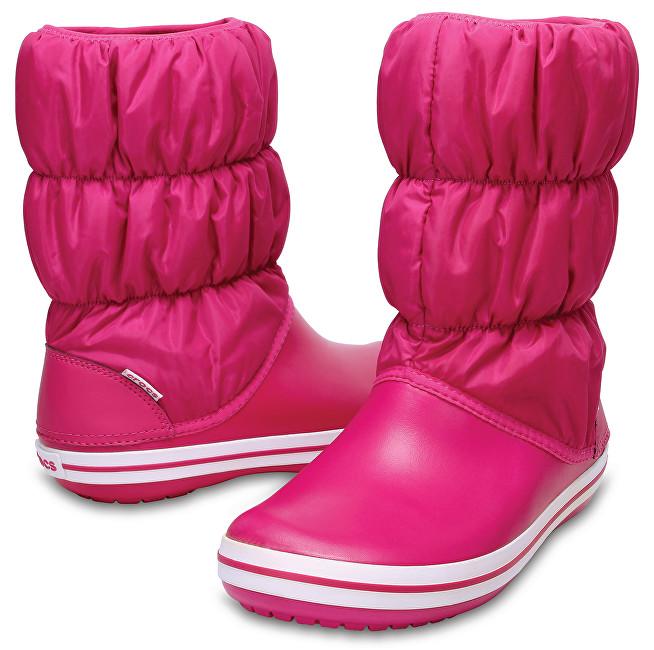 9af6784c56 Crocs Dámske snehule Winter Puff Boot Women Candy Pink Candy Pink 14614-6X3  37