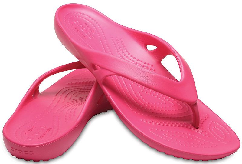 Crocs Slapi pentru femeiKadee II Flip Paradise Pink 202492-6NP 41-42