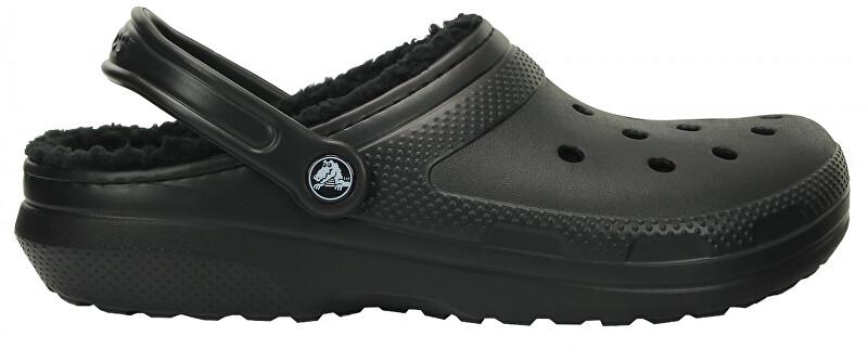 Crocs Papuci Class ic Line d Clog Black / Black 203591-060 46-47