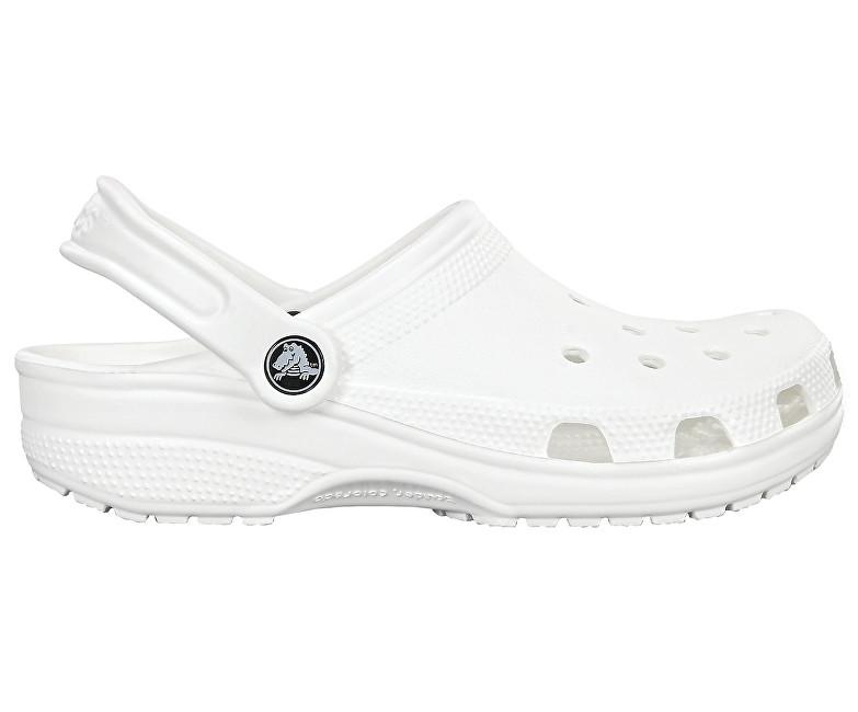 Crocs Papuci de casă Classic White 10001-100  43-44