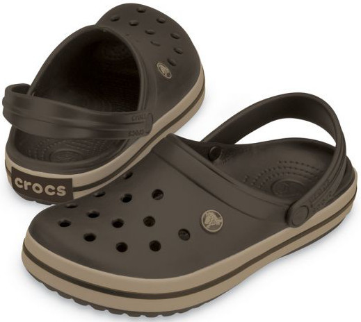 Crocs Šľapky Crocband Espresso/Khaki 11016-22Y 45-46