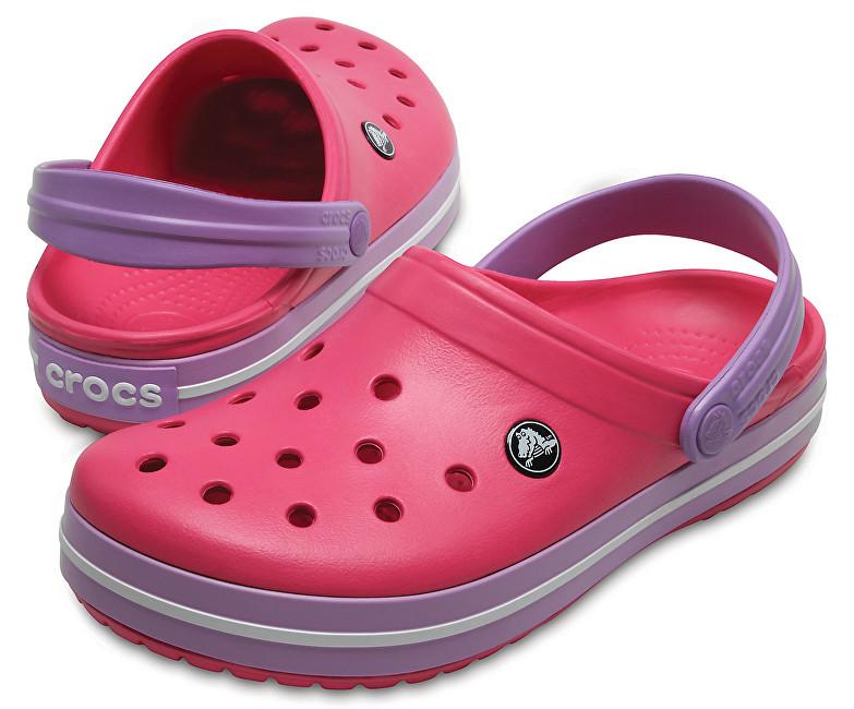Crocs Papuci Crocband Paradise Pink/Iris 11016-6OC 37-38