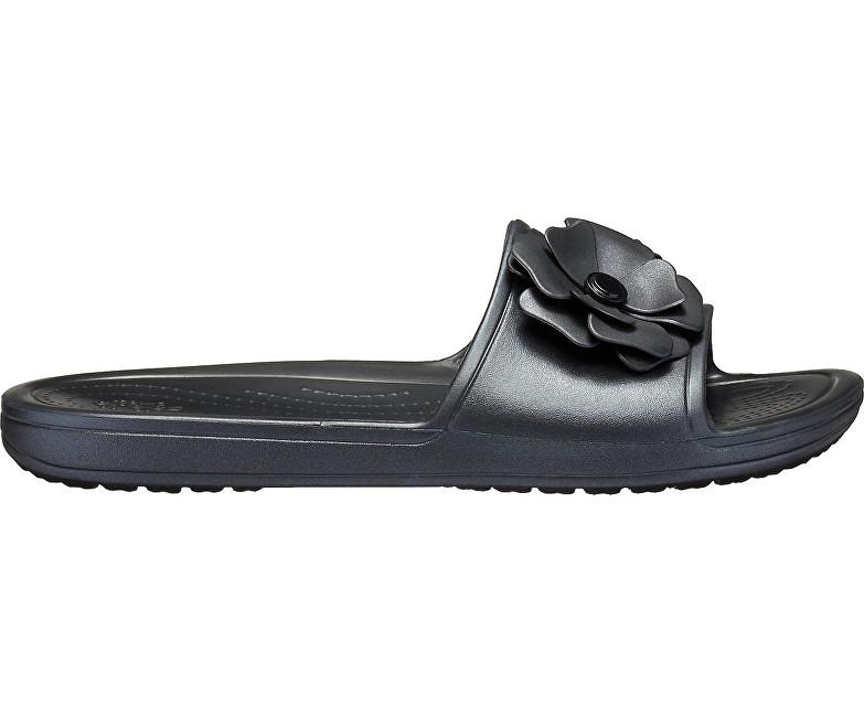 Pantofi Crocs Sloane Vivid Blooms SLD Black/Black 205752-060 41-42