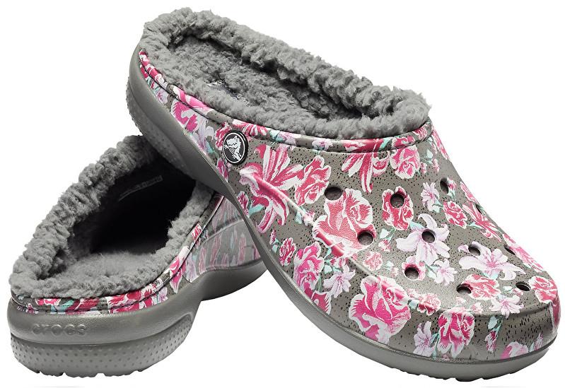 Crocs Pantofi pentru Women`s Freesail Graphic Fuzz Lined Clog 203762-97M 38-39
